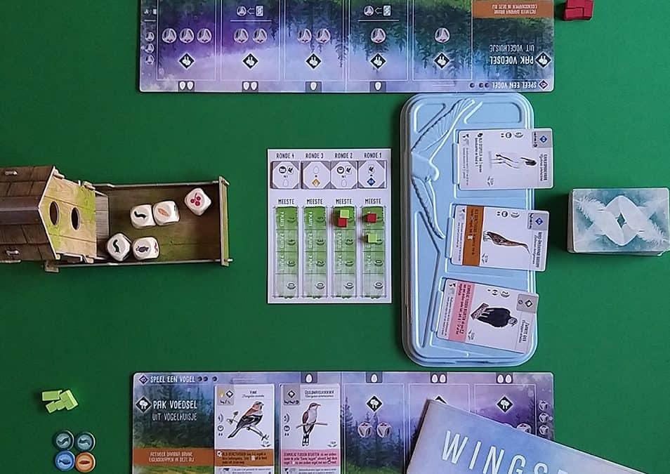 Wingspan niet alleen mooi vormgegeven maar ook leuk om te spelen.