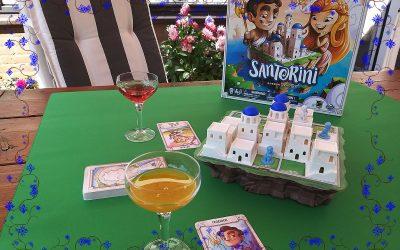 Santorini Het zonnige vakantie spel
